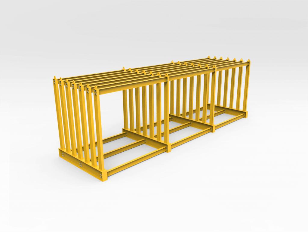 Flat Plate Steel Storage Rack Bend Tech Group