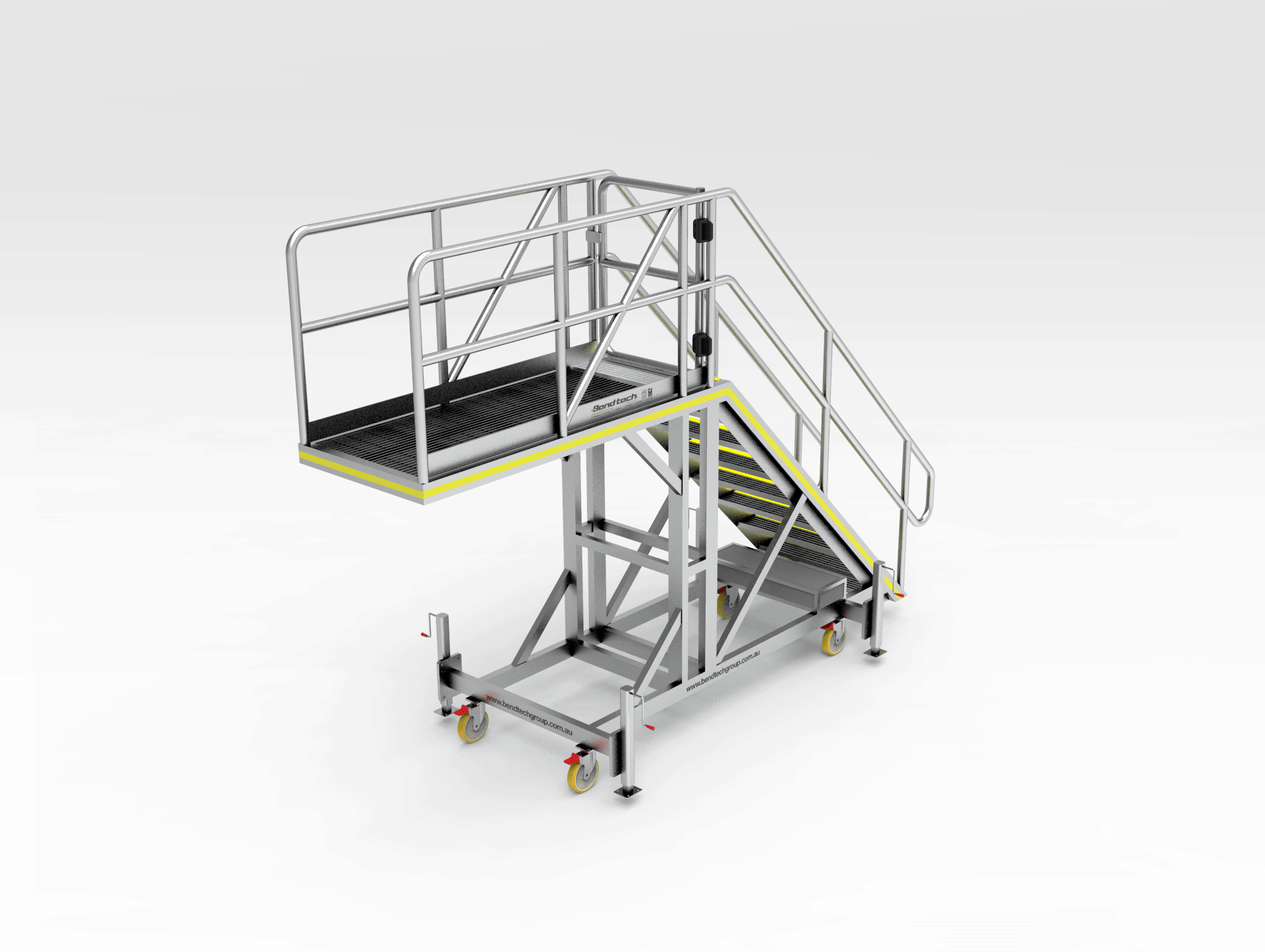 Cat D10 Engine Access Safety Platform Bend Tech Group
