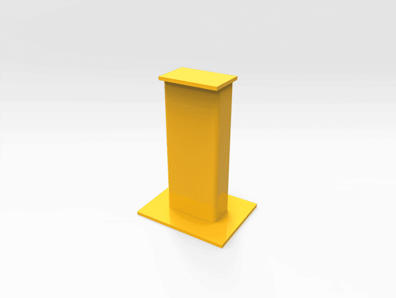 General Purpose Work Stand 10 Tonne 500mm (H)