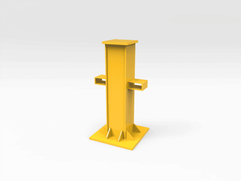 General Purpose Work Stand 60 Tonne 1160mm (H)