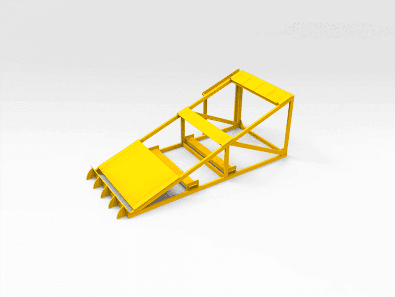 Drill Rod Support Stand