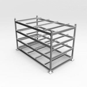 Flat Plate Steel Storage Rack