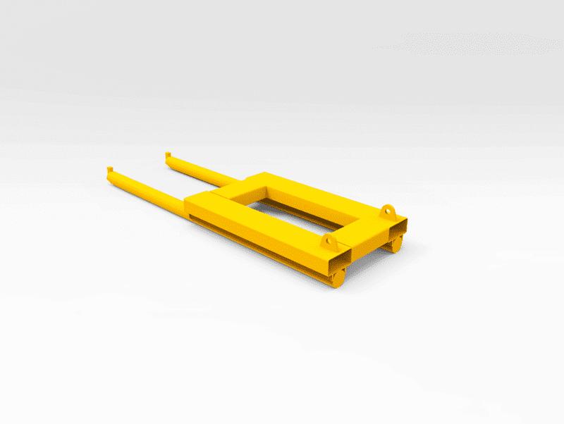 Hitachi EX5500/EX3600 Load Roller Cradle