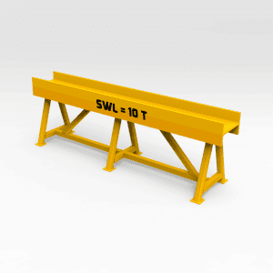 10 Tonne Trestle Stand 2400MM (L) x 650MM (H)