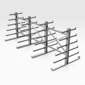 Steel Free Standing Storage Rack