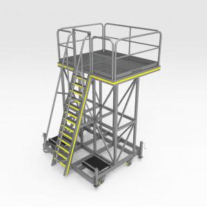 Reclaimer Bearing Access Platform
