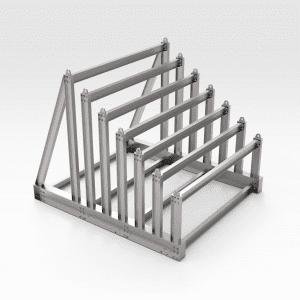 Half Sloping Vertical Steel Rack
