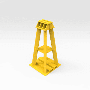 75 Tonne Front End Haul Truck Support Stand