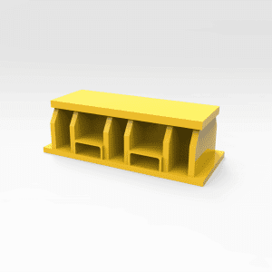 General Purpose Work Stand 80 Tonne 300mm (H)