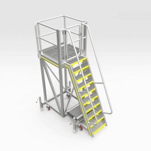 Caterpillar 777-789F Air Filter Access Platform