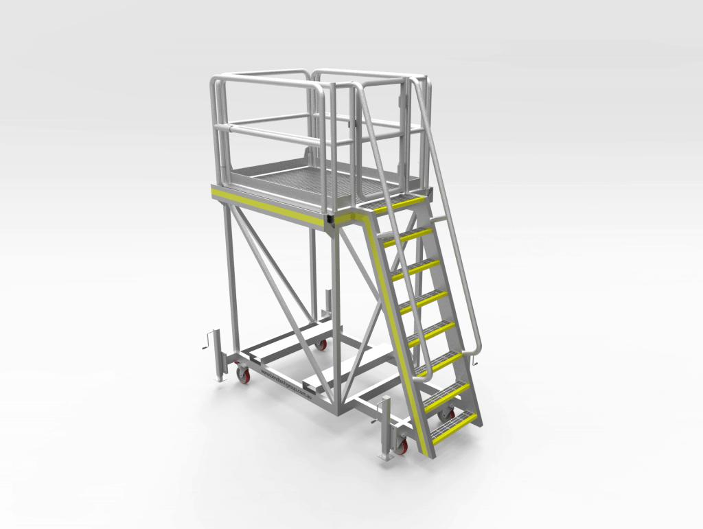 Water Cart Access Platform FL