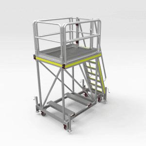 Caterpillar 777F Water Cart Access Platform