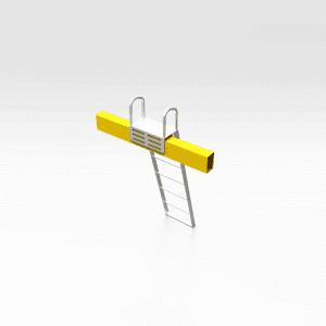 Conveyor Access Ladder
