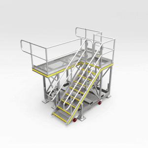 Caterpillar 793F Lower Radiator Access Platform