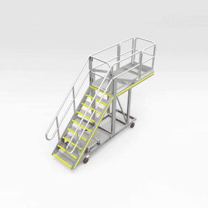 Caterpillar D10 Engine Bay Access Platform