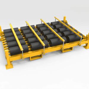 Conveyer Idler Storage and Transport Pallet