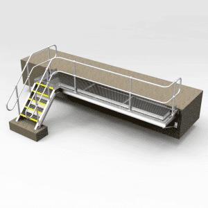 Custom Hand Railing and Platforms
