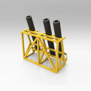 Drill Hammer Storage Rack