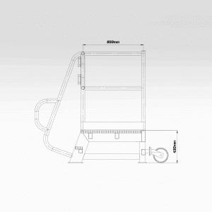Access Step Platform 430mm