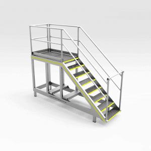 Light Vehicle Platform 1600mm (No Wheels)