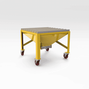 Mobile Flame Cutting Table