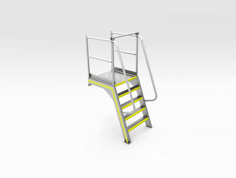 Permanent Access Stairs