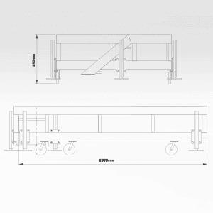 Reclaimer Curtain Access Platform