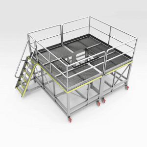 Train Positioner Motor Access Platform Set