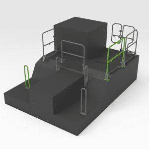 Handrail to suit OEM 453-8708