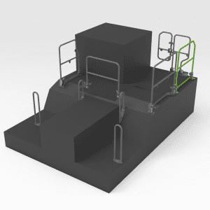 Handrail to suit OEM 453-8707