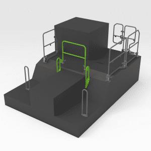 Handrail to suit OEM 453-8709