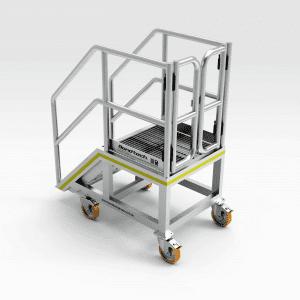 Komatsu 730/830/930E Front Entry Access Platform Stairs
