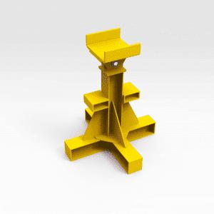 Caterpillar 854K Wheel Dozer Draft Arm Stand