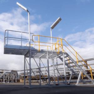 Komatsu 830E Air Filter Access Station Platform