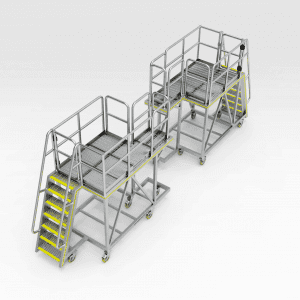 Komatsu WA1200 Artic Front Strut Area Platform