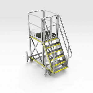 LeTourneau L2350 LH - RH Strut Removal Platform