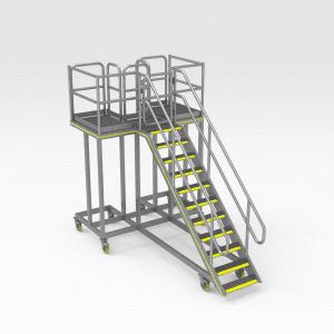 Komatsu 930E Strut Platform