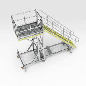Caterpillar 793F Air Cleaner Platform