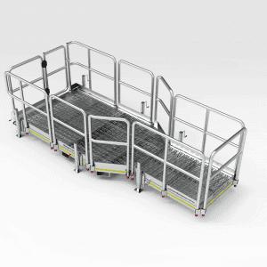 Caterpillar 793F Engine Bay Platform