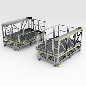 Komatsu 830E ACI Engine Modules Platform