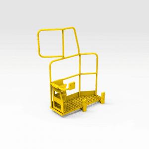 Komatsu 830E Platform with Ladder LHS