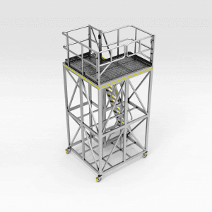 Komatsu 730E/830E Over Fuel Tank Access Platform