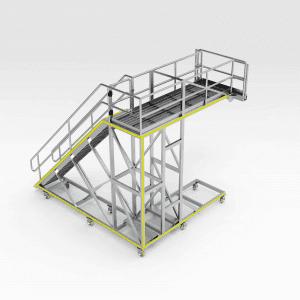 LeTourneau L2350 RH Chassis Access Platform