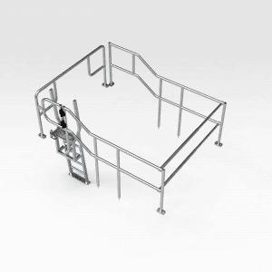 Komatsu WA1200 Access and Protection