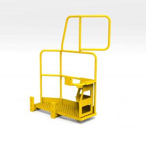 Komatsu 830E Platform with Ladder RHS