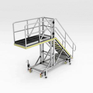 Caterpillar D10 Engine Access Safety Platform