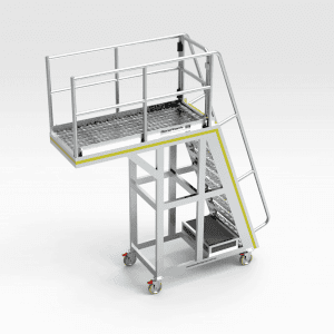 Crusher Access Platform Belt Feeder Bend Tech Group