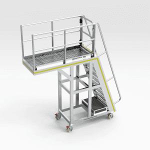 Crusher Access Platform - Belt Feeder