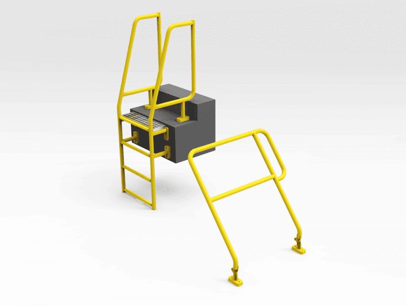 Caterpillar 793F Truck Tray Access Ladder