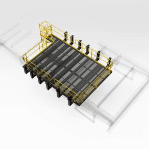 Crushing Maintenance Floor Platform